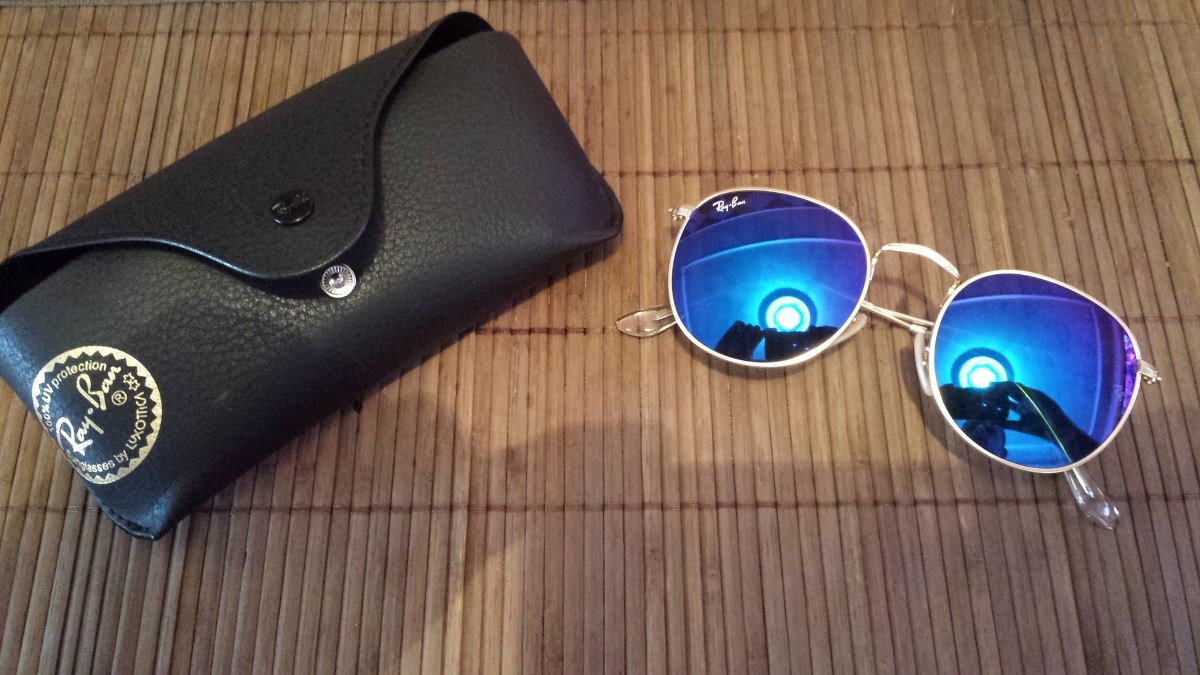 6089098b51 ... purchase ray ban round metal rb 3447 original. cargando zoom. 6376f  4b0cd