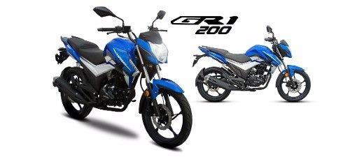gran oferta moto guerrero gr1 200 okm freno a disco