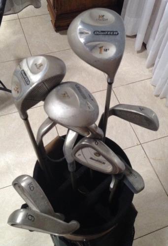 gran oferta! set de golf para dama marca knight como nuevo