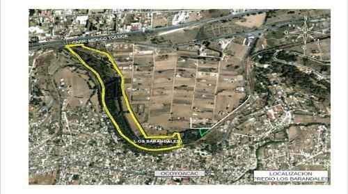 gran oportunidad de desarrollo - terreno frente a carretera mex-toluca