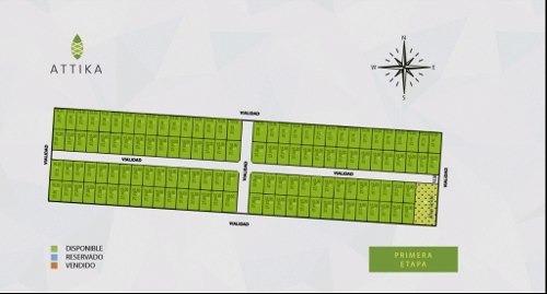 gran oportunidad de inversión, venta de lotes attika en hunucmá, yucatán