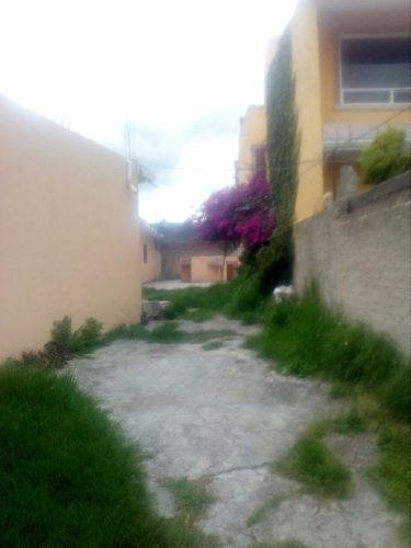 gran oportunidad de terreno en av. a 1 minuto de cruz roja villa nicolás romero