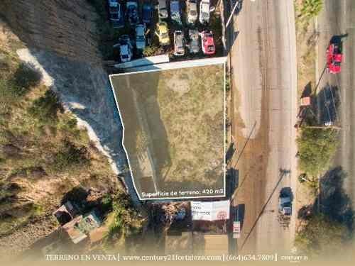 gran oportunidad en renta de terreno en col. cañon azteca, tijuana, baja california.