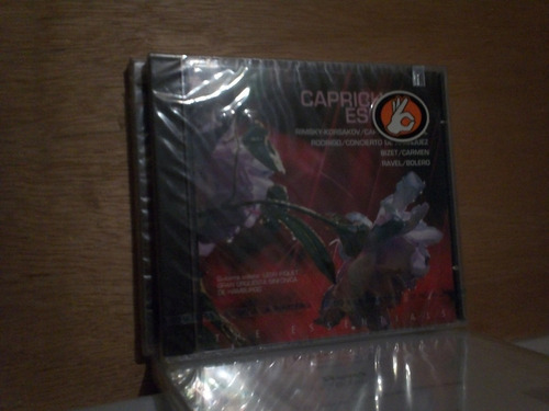 gran orquesta sinfonica de hamburgo. capricho español.cd.
