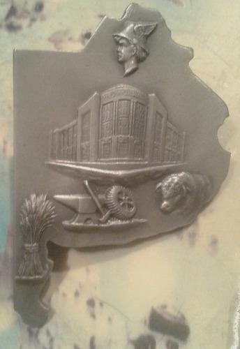 gran placa medalla banco provincia de buenos aires mapa