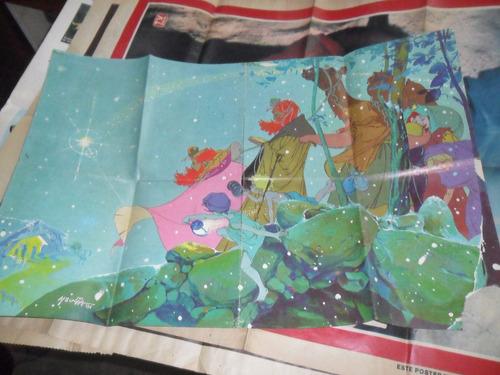 gran poster meglia 1981 pesebre reyes magos