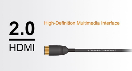 gran promo cable uhd hdmi 2.0 4k 3d 2160p de 2 metros