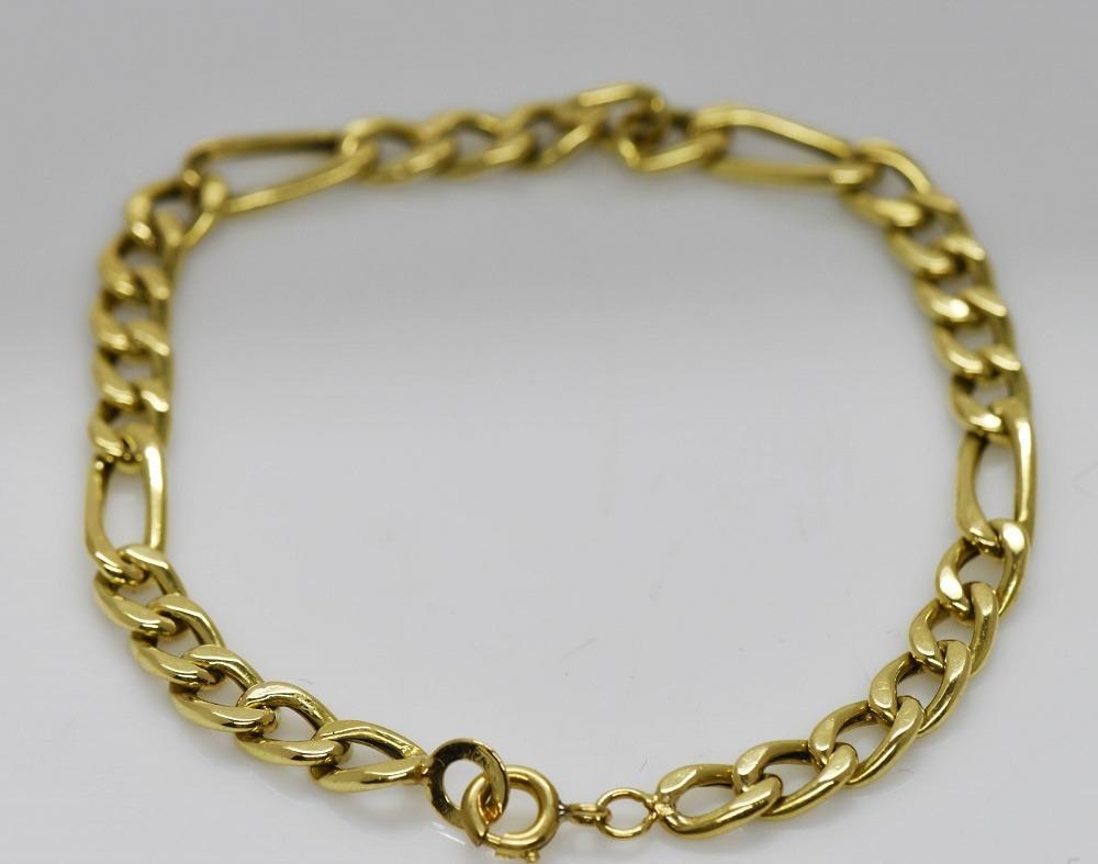 77b0c936055d gran pulsera oro macizo hombre 8.38 grs. Cargando zoom.