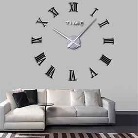 relojes para pared de sala Gran Reloj Moderno Pared Decoracin Sala Recamara Fwerq 3