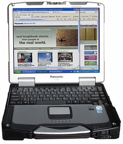 gran remate laptop panasonic toughbook cf-30