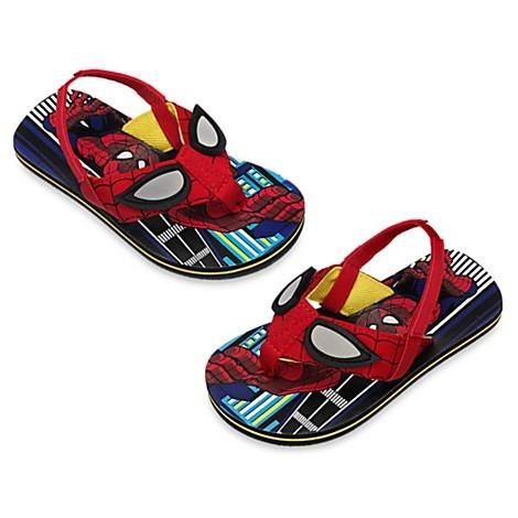 gran remate - sayonaras flip flops - spiderman - disney