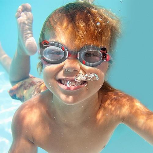 gran remate- star wars - lentes de natación - niños - disney