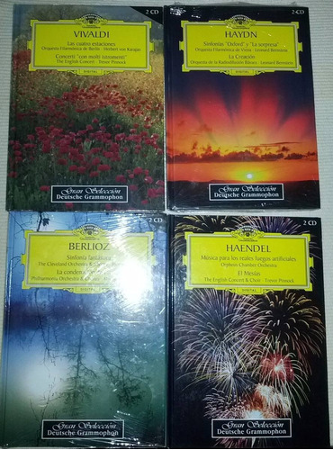 gran selección deutsche grammophon 15 tomos 30 cd impecables