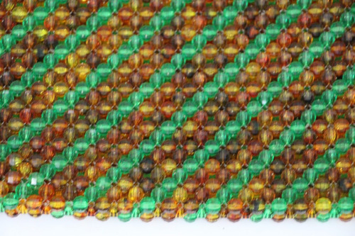 gran sobre cartera de fiesta de mostacilla integro