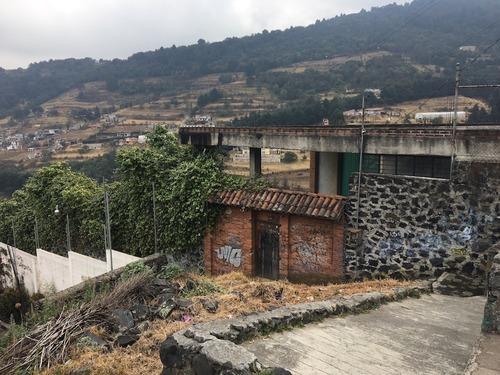 gran terreno con bodega en venta en huixquilucan