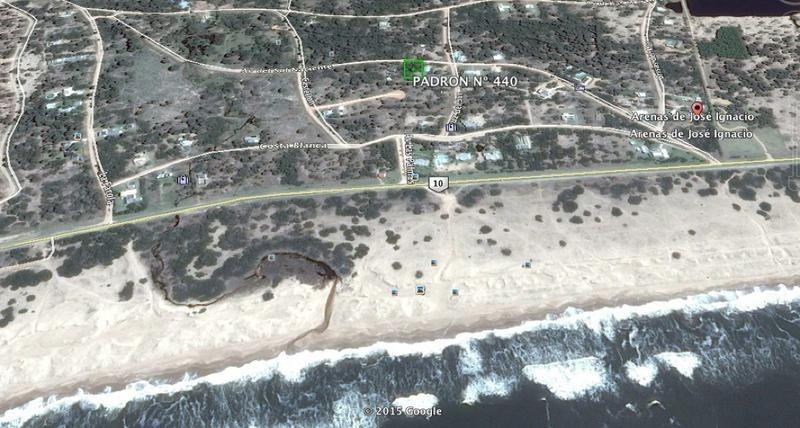 gran terreno en arenas de jose ignacio.
