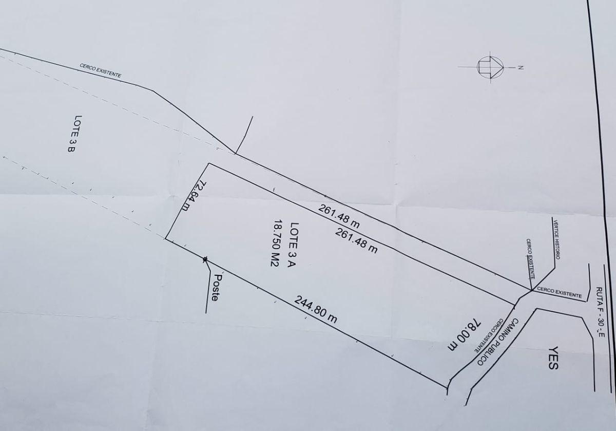gran terreno en ruta f-30, camino a maitencillo