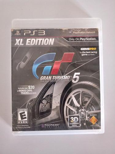 gran turismo 5 gt 5 xl edition playstation 3 ps3 físico