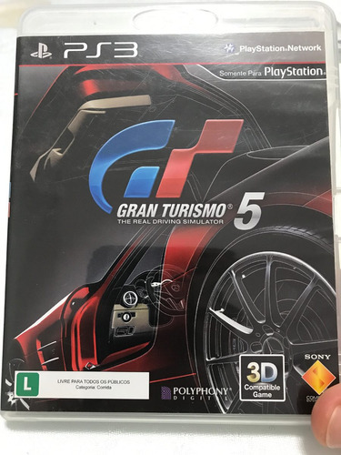 gran turismo 5 - ps3 (blu-ray disc)