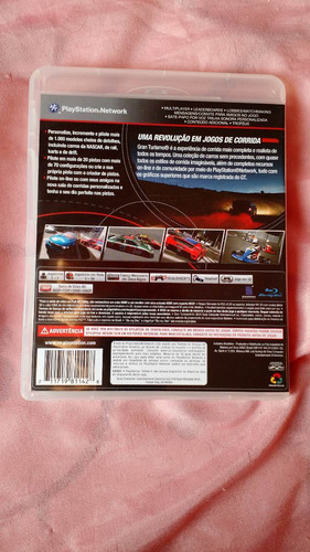 gran turismo 5 ps3 - jogo playstation 3 original