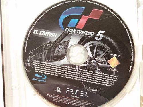 gran turismo 5 xl edition ps3  - jogo mídia original