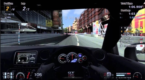 gran turismo 6 ps3 original- play perú