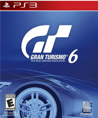 gran turismo gt 6 playstation3 ps3 digital original play3