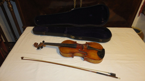 gran violin antiguo europeo aleman 4/4 schweitzer miralo