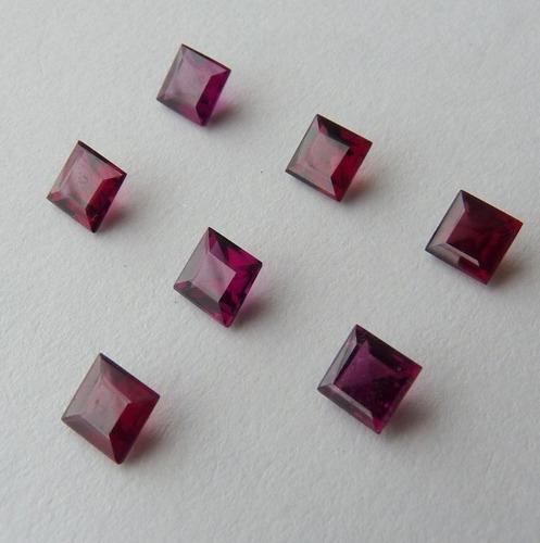 granada natural pedra preciosa preço de 2 gemas 3121