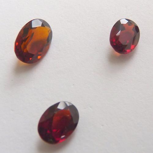 granada pedra preciosa  natural preço de 3 gemas 5129