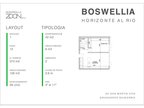 granadero baigorria: av. san martin 2750 local comercial 3 en pb en venta edificio boswellia, santa fe, argentina