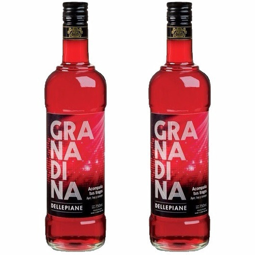granadina dellepiane oferta x 2 botellas envio gratis caba