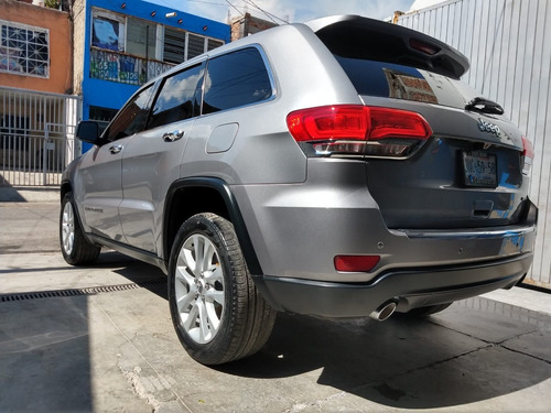 grand cherokee plata 2017, unico dueño, perfecto estado