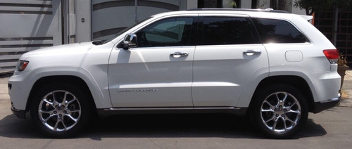 grand cherokee summit 4x4 de lujo blanca