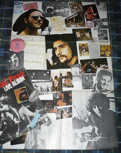 grand funk 2 lp live album con poster