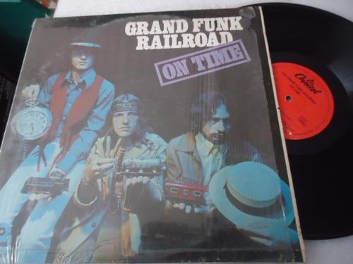 grand funk railroad / on time vinyl lp acetato
