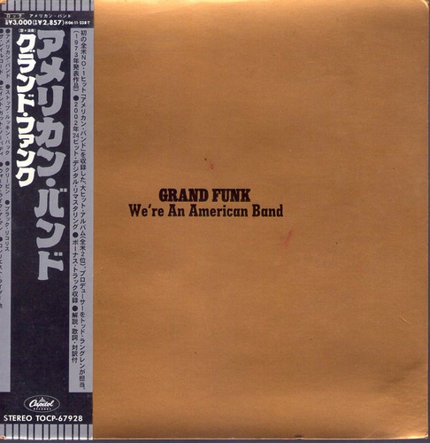 grand funk - we´re an american band - japones - cd