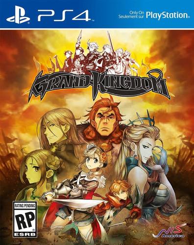 grand kingdom - playstation 4 standard edition