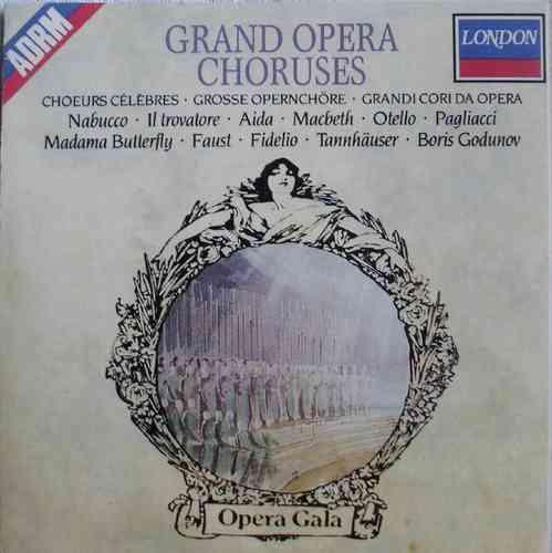 grand opera choruses - london - frete grátis