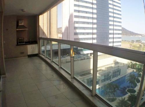 grand parc residencial torre 1- amplo apartamento 04 quartos na enseada do suá. - 19453