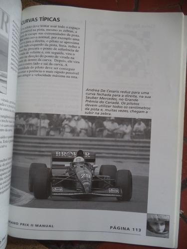 grand prix 2 = manual do jogo em portugues = ms dos e win 95