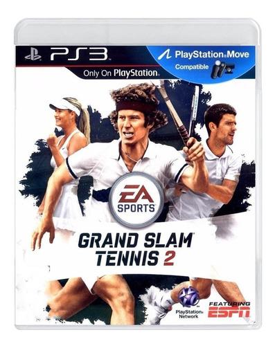 grand slam tennis 2 ps3 mídia física pronta entrega