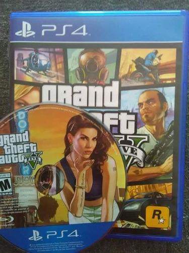 grand theft auto 5 gta v para ps4 play 4 con caja
