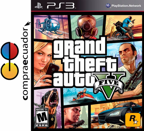 grand theft auto 5 ps3 v gta5 ps3 juego fisico sellado