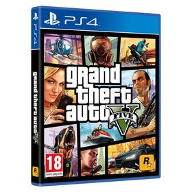 Grand Theft Auto 5 V Fisico Original Gta V Ps4 Resellado