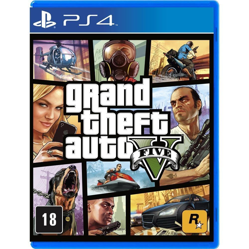 71d5e5ba2 Grand Theft Auto V Gta 5 Ps4   Midia Fisica   Lacrado + Mapa - R  120
