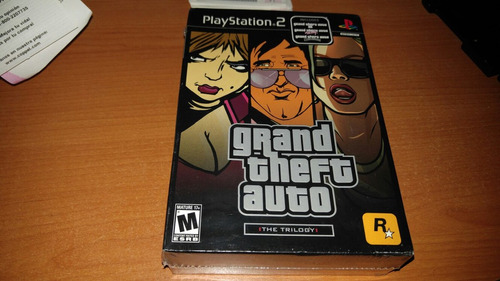 grand theft auto gta the trilogy ps2
