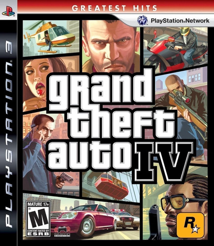 grand theft auto iv (greatest hits) (ps 3, 2008) (0113) fre