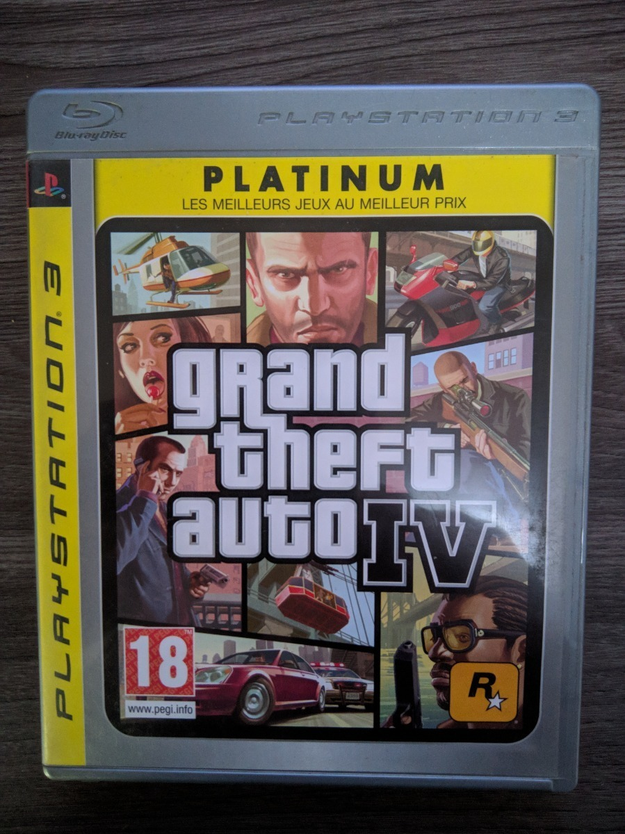 Grand Theft Auto Iv Gta 4 - Ps3