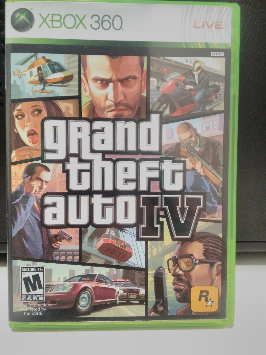 Grand Theft Auto Iv Gta 4 Xbox 360 One Completo Perfeito R 169 99